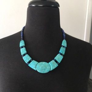 Jewelry - Turquoise and Lapis necklace